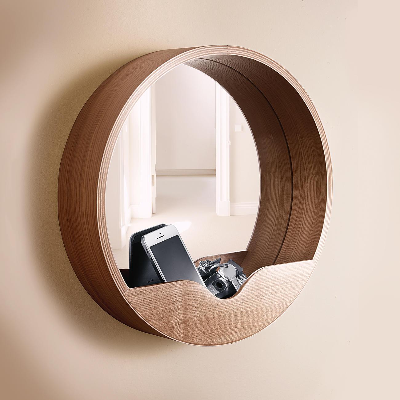 Buy Wall Mirror With Storage Shelf Online