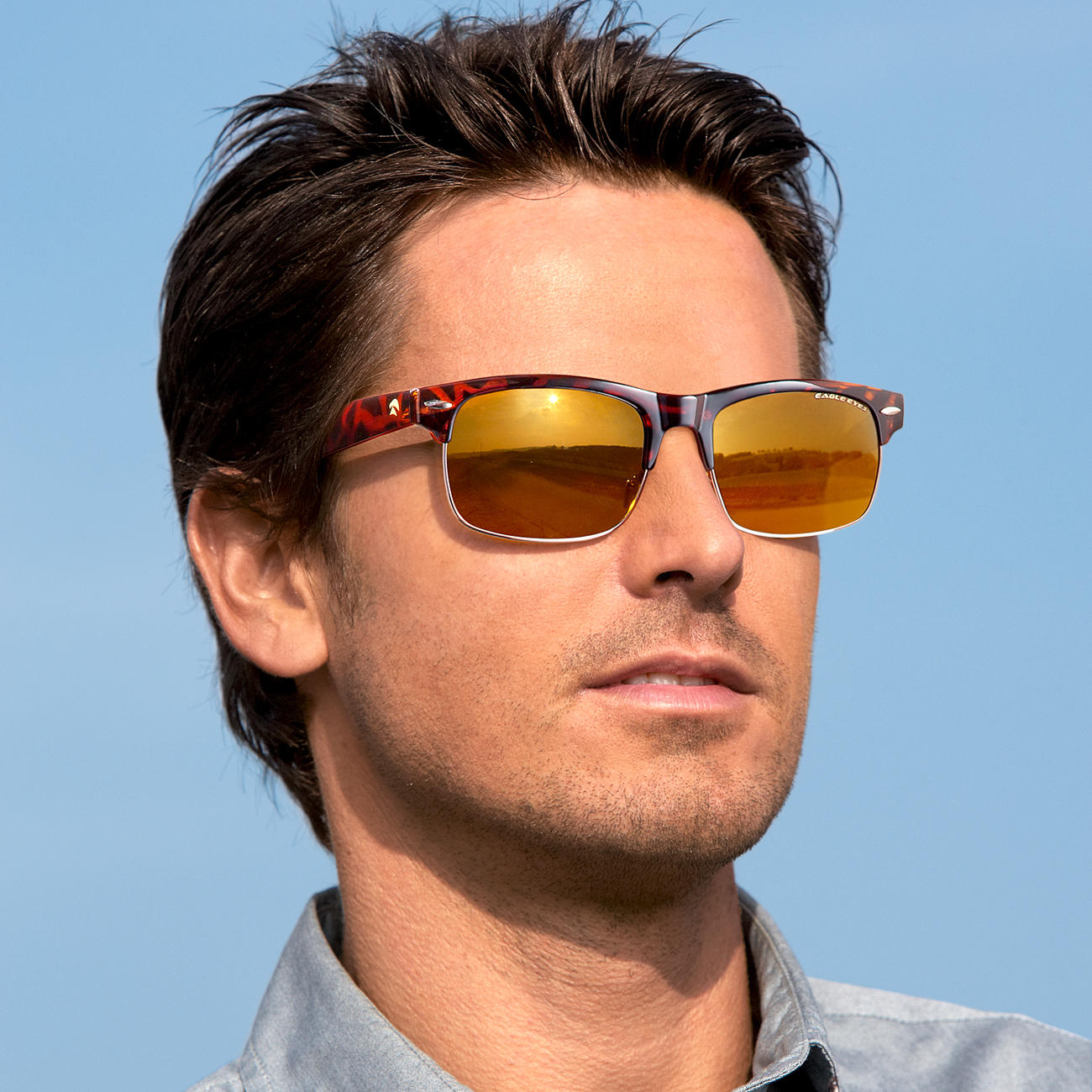 d34e12f38b6 Buy EAGLE EYES® Retro Sunglasses online