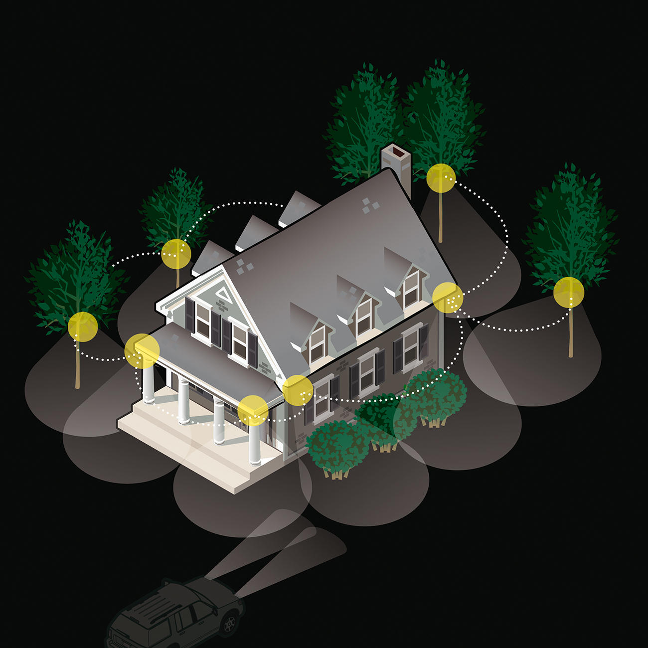 the concept of wireless security From traditional alarms to wired systems, there has been considerable change in the way homes and businesses are secured and wireless security systems seem to be the most feasible option.