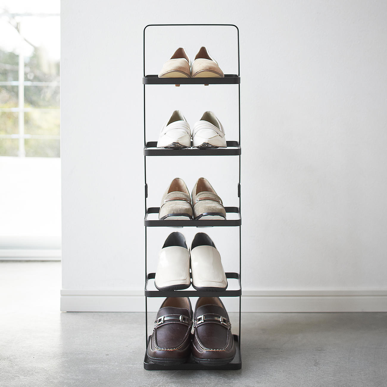 Mobile The Portable Shoe Tower In Purist Anese Design