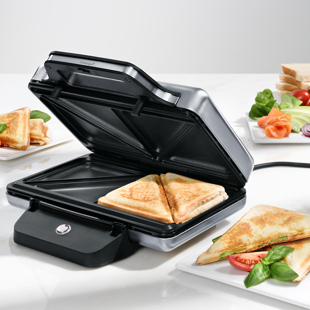buy wmf lono sandwich toaster 3 year product guarantee. Black Bedroom Furniture Sets. Home Design Ideas