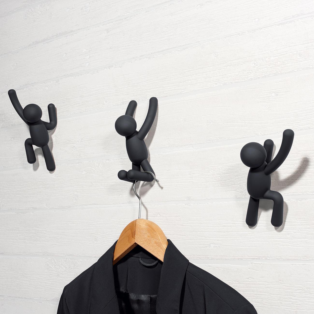 Buy coat hooks climber set of 3 online for Artistic coat hooks