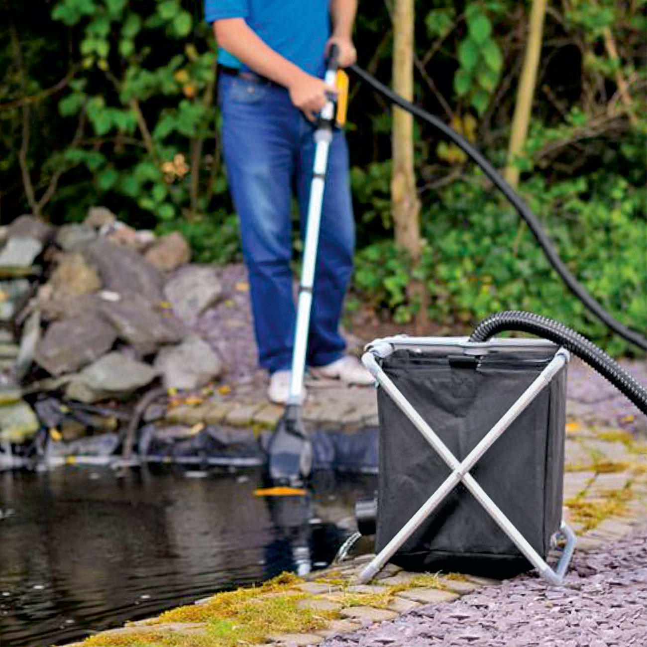 Buy pond vacuum cleaner pond vac online for Pond cleaner