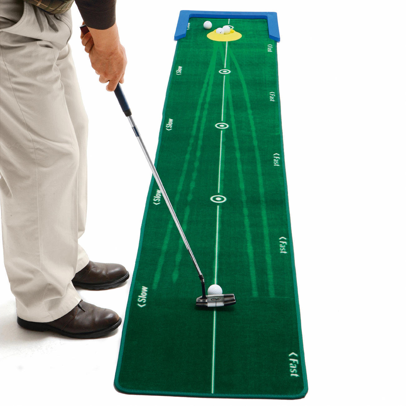 Carrelage Design tapis putting : Best Tracku201d Putting Mat So easy to create countless practice ...