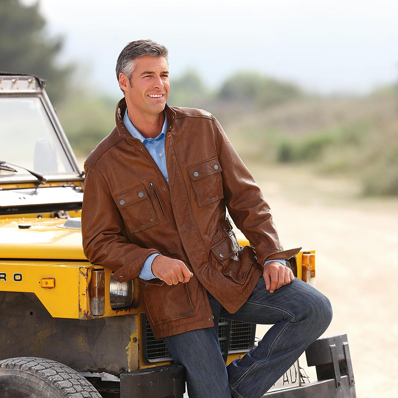 Buy Lights Online Nz: Buy Lambskin Leather Field Jacket Online