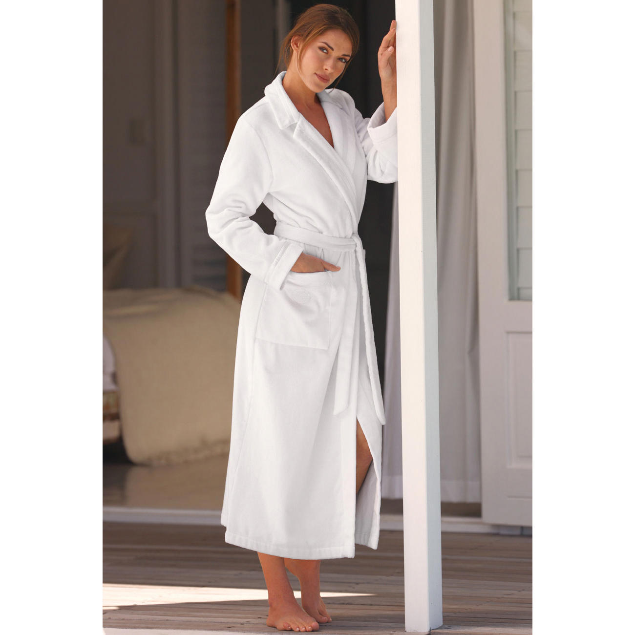 buy f raud couture bathrobe 3 year product guarantee. Black Bedroom Furniture Sets. Home Design Ideas