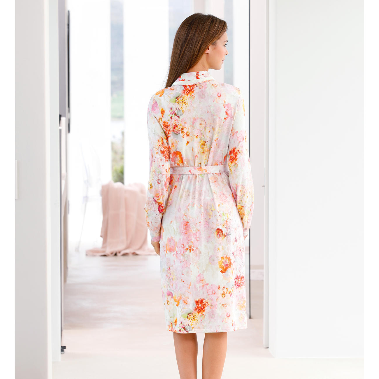 "Charmor Dressing Gown ""Floral Beauty"""