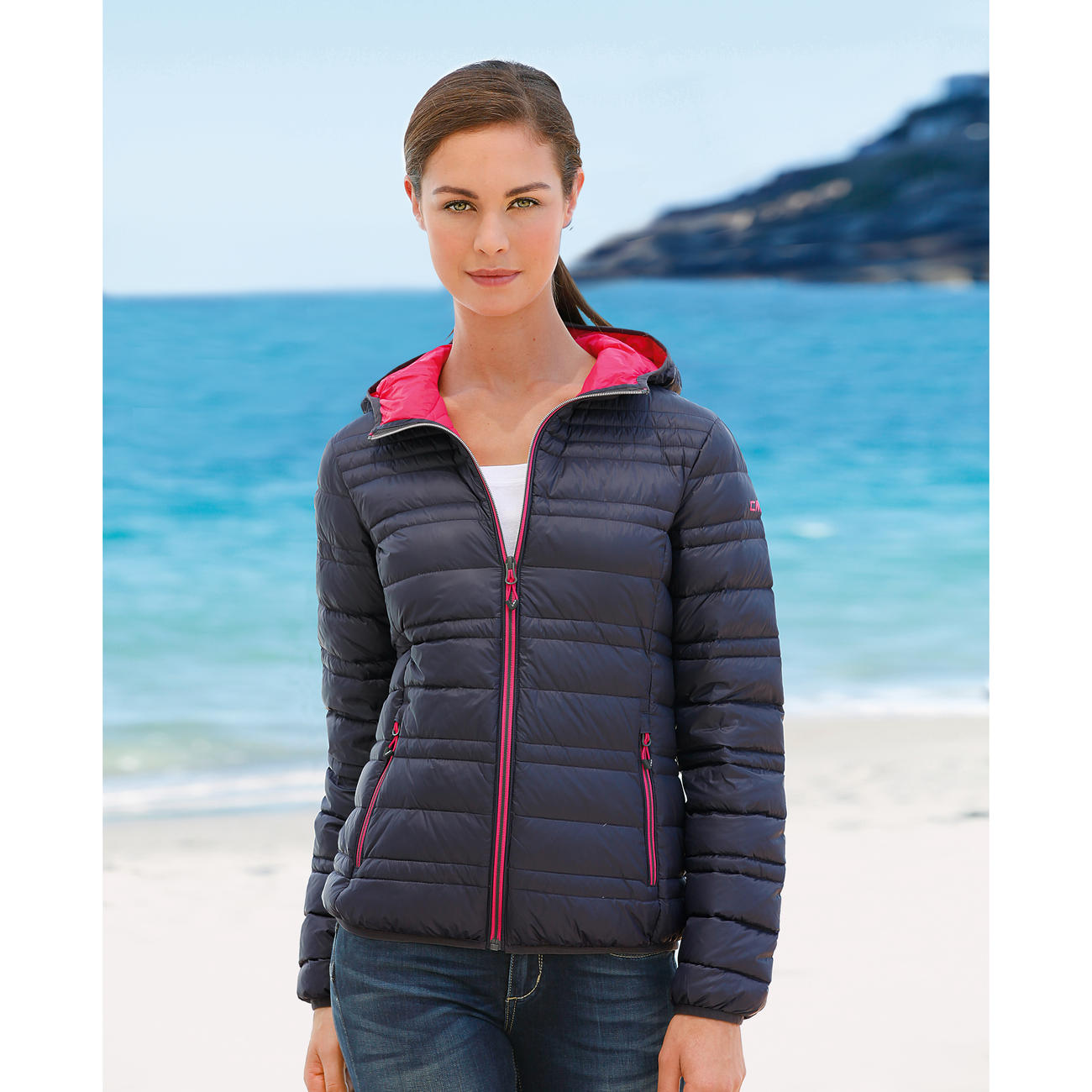 buy cmp campagnolo summer down jacket online. Black Bedroom Furniture Sets. Home Design Ideas