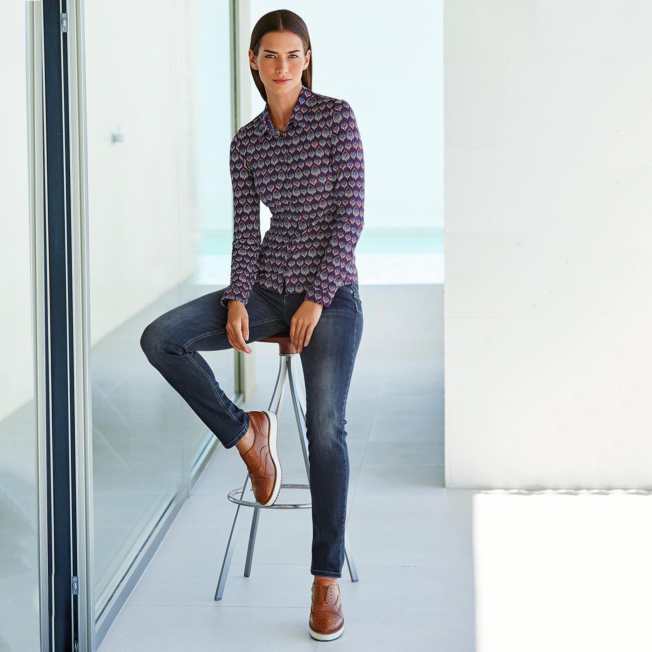 e5534cb4e89a9b KD-Klaus Dilkrath Jersey Blouse - As elegant as a blouse. As comfortable as