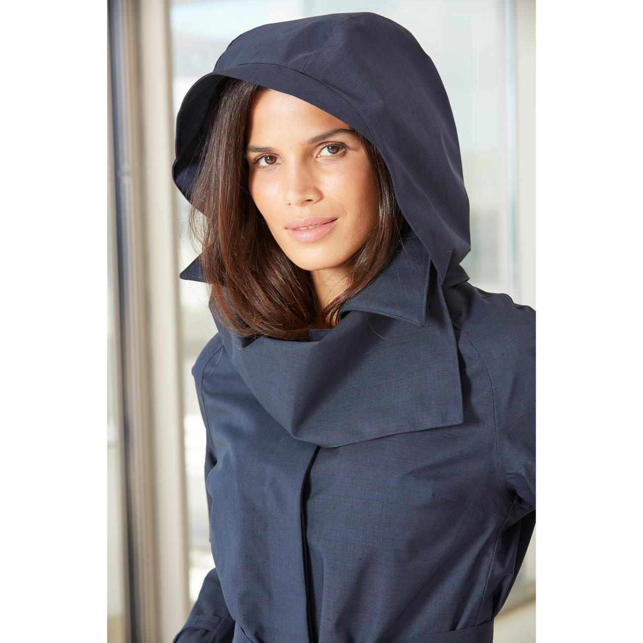 2019 year look- Raincoat womens with hood stylish