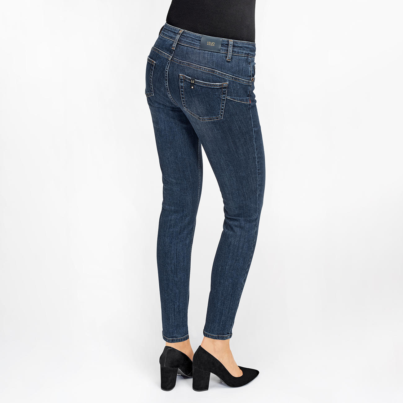 online store a7e68 91517 Liu Jo Jeans Bottom Up Ankle Jeans discover