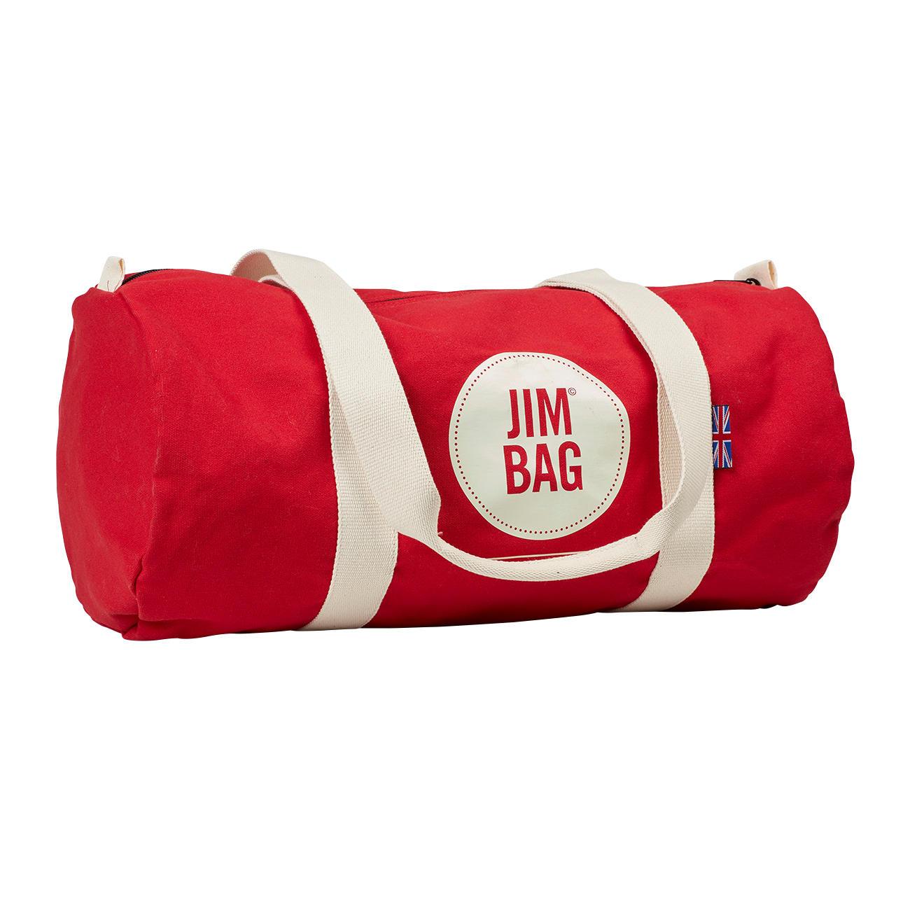 Gym Bag Jim Kidd: Red