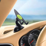 Grip-Pad Holder Safer and far more elegant: Holds your satnav or mobile – away from the windscreen.