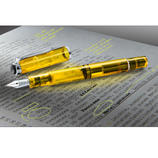 Highlighter Fountain Pen, Set with 30ml Neon Ink Highlight in style, edit in brilliant colour: The fountain pen for neon ink.