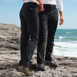 Softshell Trousers, Women and Men Thanks to softshell these trousers are slim, light and still warm. 
