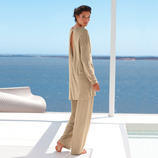 Cornelie Weiss Loungewear Trousers or Tunic Light, airy, and unusually classy loungewear.