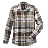 Louis Féraud Linen Check Shirt The ideal summer shirt. Cool and refreshing. Light and soft. Colourfast and stays in shape.