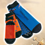 Beach Socks, Set of 2 Beach socks: Light, elastic and ideal both for swimming and at home.