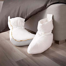 Bedsocks - These bedsocks, with their 4.2 oz half down filling, guarantee instant warmth and comfort.