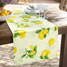 Your Provencal Table Linen is carefully edged with fine envelope corners.