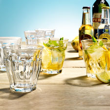 Picardie Glass Tumblers, Set of 6 - Timeless. Beautiful. Unbeatable: The classic French Picardie glass tumblers.