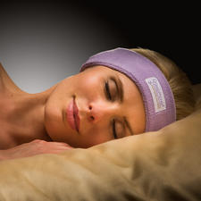 SleepPhones® Headband Headphones - At last: Headphones you can fall asleep in comfortably. Ultra-slim. Extremely flexible.