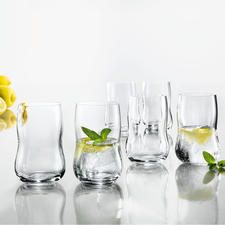 Holmegaard Tumbler, Set of 6 - Pure aesthetics. Handy shape. Perfect size.