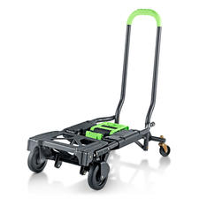 Foldable 2-in-1 Trolley - Twice as handy: Trolley and handcart in one.