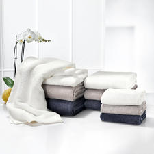 """AirDrop® Towels - Luxurious towels. Innovative """"AirDrop®"""" technology makes them nearly twice as thick - and they stay that way."""