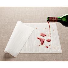 Even colour intense spills won't leave a trace.
