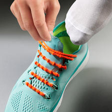 Xtenex Lacing System - Take your shoes on and off without having to tie your laces. Successfully tested by professional athletes.