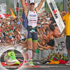 "Frederik van Lierde is also a fan of Xtenex. He wore the ""Sport"" lacing system at the Ironman Hawaii in 2013 - and won."