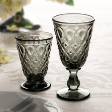 Lyonnais Glasses, Set of 6 - A stylish combination of historical glassware and contemporary design. by La Rochère, established 1475.