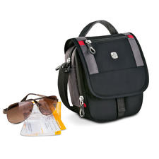 Wenger Mini Boarding Bag - Travel in style with everything you need to hand.