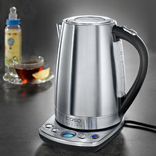 Design Kettle with variable temperature setting - State-of-the-art stainless steel kettle with 7 temperature settings (instead of just 3-5).
