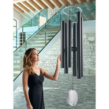 Giant Wind Chime - Possibly the largest wind chime on the market. Certainly one of the finest in terms of contemporary design.