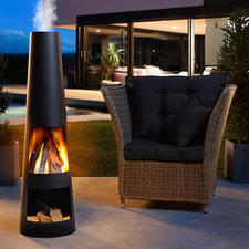 Terrace Fireplace - A stylish fireplace. A cosy wood fire. And the favourite place to be on your terrace.