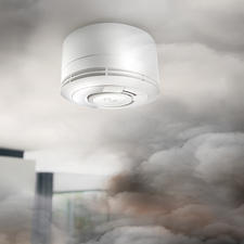 Smoke Detector with Phone Function - The intelligent smoke detector: alerts within seconds in case of alarm via SMS and/or phone call.