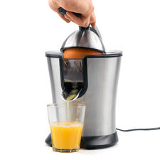 Electric Juicer Caso CP 200 - Great features. Great processing. Great price. No spilling or dripping. Easy to clean.