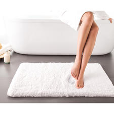 Wonderfully Soft Bath Mat - Luxuriously soft bath mat with memory foam insert. Breathable and antimicrobial.