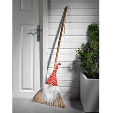Norwegian Gnome Broom - A merry piece of Norwegian Christmas tradition.