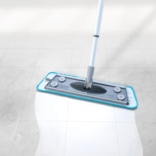 3-in-1 Floor Cleaner, 4 piece set - The better floor cleaner: Cleans wet and dry. Scrubs and disperses water.