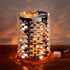 Tea Light Carousel XL - Now you can light up your table, sideboard or windowsill with a fabulous ambience.