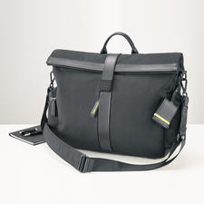 Moleskine® By Bric's Messenger Bag - The result of a perfect partnership. Stylish design. Many clever features.