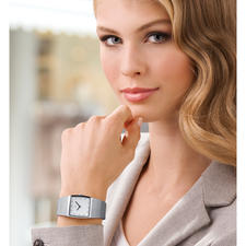 Women's watch, silver