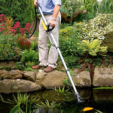 Pond Vacuum Cleaner Pond Vac - Premium pond vacuum cleaner: Saves up to 30% in cleaning time and delivers up to 50% greater suction.