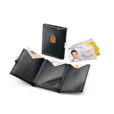 Exentri® Smart Wallet - Instant access to your most used cards. Fits comfortably in the pocket of your trousers or jacket.