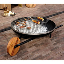 """Fire Bowl with Grill Function """"Barrow"""""""