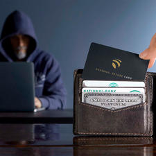 With only one card, you can reliably protect up to 12 cards from skimming.