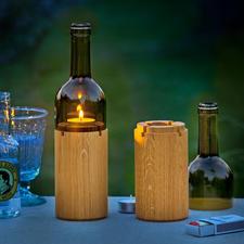 Wine Light - Atmospheric lighting for an al fresco candlelit dinner.